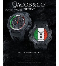 Jacob & Co. 捷克豹 [NEW][LIMITED 30 PIECE] Carbon EPIC-X Chrono Mexico