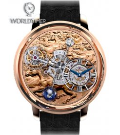 Jacob & Co. 捷克豹 [NEW] Astronomia Stallion Rose Gold Tourbillon AT100.40.HA.UA.A