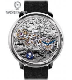 Jacob & Co. 捷克豹 [NEW] Astronomia Stallion Platinum Tourbillon AT100.60.AC.UB.A
