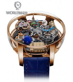 Jacob & Co. 捷克豹 [NEW] Astronomia Moscow Edition Tourbillon AT102.40.AA.UA.A (Retail:HK$5,280,000)