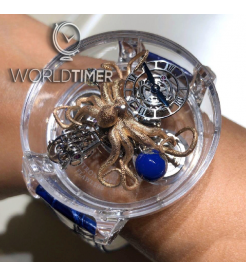 Jacob & Co. 捷克豹 [NEW][UNIQUE] Astronomia Flawless Octopus Sapphire AT125.80.OU.SD.A