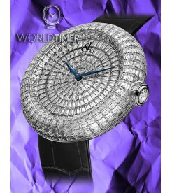 Jacob & Co. 捷克豹 [NEW][LIMITED 18 PIECE] Brilliant Full Baguette White Diamond 44mm BA534.30.BD.BD.A (Retail:HK$4,056,700)