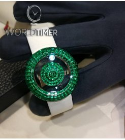 Jacob & Co. 捷克豹 [NEW] Brilliant Mystery Baguette 38mm Emerald BM526.30.BE.BE.A (Retail:HK$7,349,700)