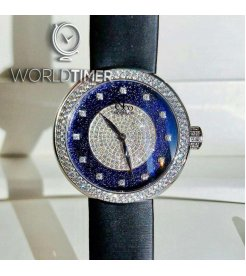 Jacob & Co. 捷克豹 [NEW] Brilliant Blue Uinverse 38mm BQ020.10.RT.MA.A (Retail:HK$167,100)