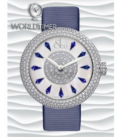 Jacob & Co. 捷克豹 [NEW] Brilliant Half Pave Blue Sapphire 44mm BQ030.10.RH.KF.A (Retail:HK$353,300)