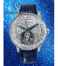 Jacob & Co. 捷克豹 [NEW][LIMITED 18 PIECE] Caviar Tourbillon White Gold CV201.30.BD.BD.A (Retail:HK$8,590,500)