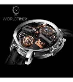 Jacob & Co. 捷克豹 [NEW MODEL] Opera Godfather Musical White Gold Watch