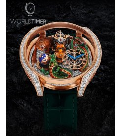 Jacob & Co. 捷克豹 [NEW MODEL] Astronomia Solar Baguette Dragon and Tiger