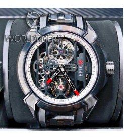 Jacob & Co. 捷克豹 [NEW] EPIC-X Titanium Bracelet E100.21.NS.WB.A21AA (Retail:HK$175,000)