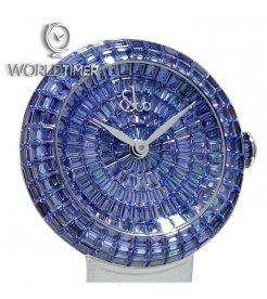 Jacob & Co. 捷克豹 [NEW] Brilliant Full Baguette Blue Sapphires 38mm BA521.30.BB.BB.A (Retail:HK$3,000,000)
