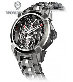 Jacob & Co. 捷克豹 [NEW] Epic X Titanium Bracelet EX100.20.PS.BW.A20AA (Retail:HK$181,400)