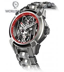 Jacob & Co. 捷克豹 [NEW] Epic X Titanium Bracelet EX100.20.PS.RW.A20AA (Retail:HK$181,400)
