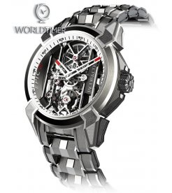 Jacob & Co. 捷克豹 [NEW] Epic X Titanium Bracelet EX100.20.PS.WB.A20AA (Retail:HK$181,400)