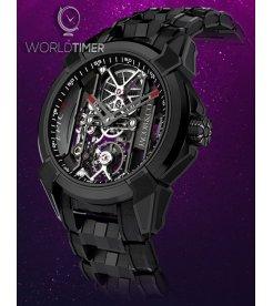 Jacob & Co. 捷克豹 [NEW] Epic X Black Titanium Bracelet EX100.21.PS.BW.A21AA (Retail:HK$181,400)