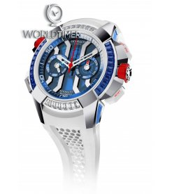 Jacob & Co. 捷克豹 [NEW][LIMITED 3 PIECE] EPIC-X Chrono Baguette Summer Edition EC423.32.BE.LL.H
