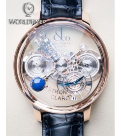 Jacob & Co.捷克豹 [NEW] Astronomia Clarity Rose Gold Tourbillon AT120.40.AD.SD.A (Retail:HK$6,000,000)