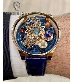 Jacob & Co. 捷克豹 [NEW MODEL] Astronomia Solar Planets Tourbillon (Retail:HK$2,939,900)