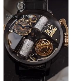 Jacob & Co. 捷克豹 [NEW MODEL] Opera Godfather Musical Watch With Icy Diamond Barrels