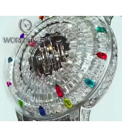 Jacob & Co. 捷克豹 [NEW] Supernova Tourbillon Multi-Colored Gemstones SN800.30.BD.AF.A (Retail:HK$11,880,000)