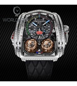 Jacob & Co. 捷克豹 [NEW] Twin Turbo Furious Bugatti TT800.30.BD.UA.A (Retail:HK$13,000,000)