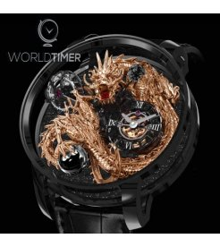 Jacob & Co. 捷克豹 [NEW MODEL] Astronomia Tourbillon Dragon