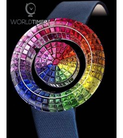 Jacob & Co. 捷克豹 [NEW MODEL] Brilliant Mystery Rainbow Watch