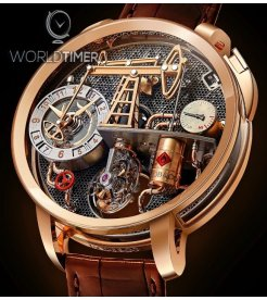 Jacob & Co. 捷克豹 [NEW] Oil Pump Tourbillon OI100.40.AA.AA.A (Retail:HK$3,344,000)