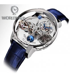Jacob & Co. 捷克豹 [NEW][LIMITED 9 PIECE] Astronomia Clarity White Gold Tourbillon AT120.30.AD.SB.A (Retail:HK$4,752,000)