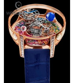 Jacob & Co. 捷克豹 [NEW MODEL] Astronomia Tourbillon Multi-Colored Baguette Arlequino