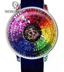 Jacob & Co. 捷克豹 [NEW MODEL] Brilliant Mystery Rainbow Tourbillon