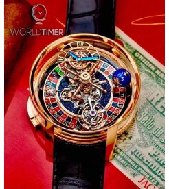 Jacob & Co. 捷克豹 [NEW][LIMITED 88 PIECE] Astronomia Casino AT160.40.AA.AA.A (Retail:HK$5,456,000)