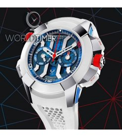 Jacob & Co. 捷克豹 [NEW][LIMITED 180 PIECE] Epic-X Chrono Messi Titanium EC313.20.PE.LL.K (Retail:HK$276,900)
