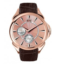 Jacob & Co. 捷克豹 [NEW] Palatial Classic Manual Big Date Rose Gold PC400.40.NS.NB.A (Retail:HK$214,800)