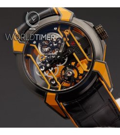 Jacob & Co. 捷克豹 [NEW MODEL] Epic X Racing Orange Mens Watch