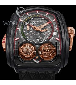 Jacob & Co. 捷克豹 [NEW MODEL] Twin Turbo Furious Carbon Fiber Watch