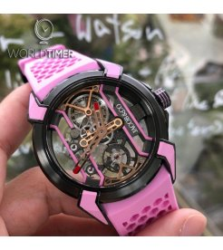 JACOB & CO. 捷克豹 [NEW] EPIC-X RACING PINK EX100.21.PR.PB.ALO3A (Retail:HK$189,000)