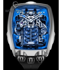 Jacob & Co. 捷克豹 [NEW MODEL] Bugatti Chiron Blue 16 Cylinder Tourbillon (Retail:US$280,000)
