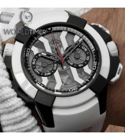 Jacob & Co. 捷克豹 [NEW] Epic X Chrono Titanium Black and White EC312.21.SD.BX.A