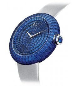 Jacob & Co. 捷克豹 [NEW][LIMITED 6 PIECE] Brilliant Full Baguette Blue Sapphire 44mm BA534.30.BB.BB.A (Retail:HK$3,340,800)
