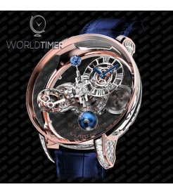 Jacob & Co. 捷克豹 [NEW] Astronomia Clarity Rose Gold Baguette AT820.40.BD.SB.A