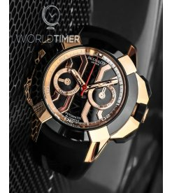Jacob & Co. 捷克豹 [NEW] EPIC-X Chrono Rose Gold EC311.42.PD.BN.A (Retail:HK$369,600)