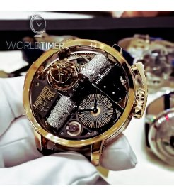 Jacob & Co. 捷克豹 [NEW] Opera Godfather Musical Watch With Icy Diamond Barrels