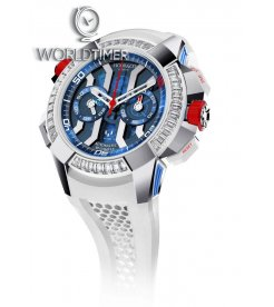 Jacob & Co. 捷克豹 [NEW][LIMITED 36 PIECE] EPIC-X Chrono Messi Baguette EC423.32.OE.LL.J (Retail:HK$1,320,000)