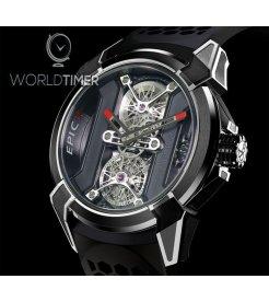 Jacob & Co. 捷克豹 [NEW] EPIC X Tourbillon Black PVD Titanium EX101.21.PS.PP.A (Retail:HK$1,140,000)