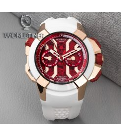 Jacob & Co. 捷克豹 [NEW] EPIC X Chrono Red Mineral Glass EC313.42.PA.RR.F (Retail:HK$420,000)