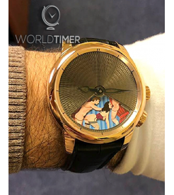 Jacob & Co. 捷克豹 [NEW][LIMITED 69 PIECE] Caligula Rose Gold CL100.40.NS.AA.A (Retail:HK$658,700)