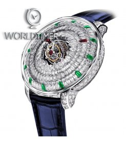 Jacob & Co. 捷克豹 [NEW][LIMITED 18 PIECE] Supernova Tourbillon Ruby & Emerald SN800.30.BD.AB.A (Retail:HK$11,880,000)