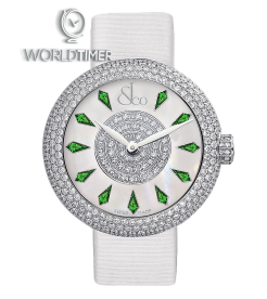 Jacob & Co. 捷克豹 [NEW] Brilliant Half Pave Green 44mm BQ030.10.RH.KD.A (Retail:HK$353,200)