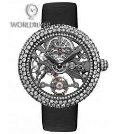Jacob & Co. 捷克豹 [NEW][LIMITED 101 PIECE] Brilliant Skeleton Jewelry White Gold Black DLC BS531.31.RD.AK.A (Retail:HK$754,100)
