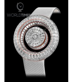 Jacob & Co. 捷克豹 [NEW][LIMITED 18 PIECE] Brilliant Mystery Baguette White Diamonds BM555.40.BD.BD.ASB4A (Retail:HK$4,581,600)